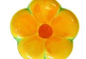 Petal Plate – Orange Flower