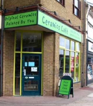 Ceramics Cafe West Ealing London