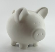 Piggy Bank Medium 14cm – In Studio Cost £15.75 to £18.90
