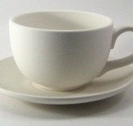 Breakfast Cup and Saucer Set – In Studio Cost £16.65 to £20.03