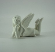 Fairy Girl Laying 8cm – In Studio Cost £9.90 to £11.93
