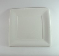 Square Plate Small 19cm – In Studio Cost £12.60 to £15.08